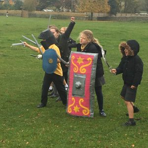 Saxons vs Vikings on the Common