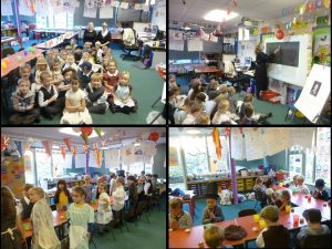 Teal Class' Victorian Day