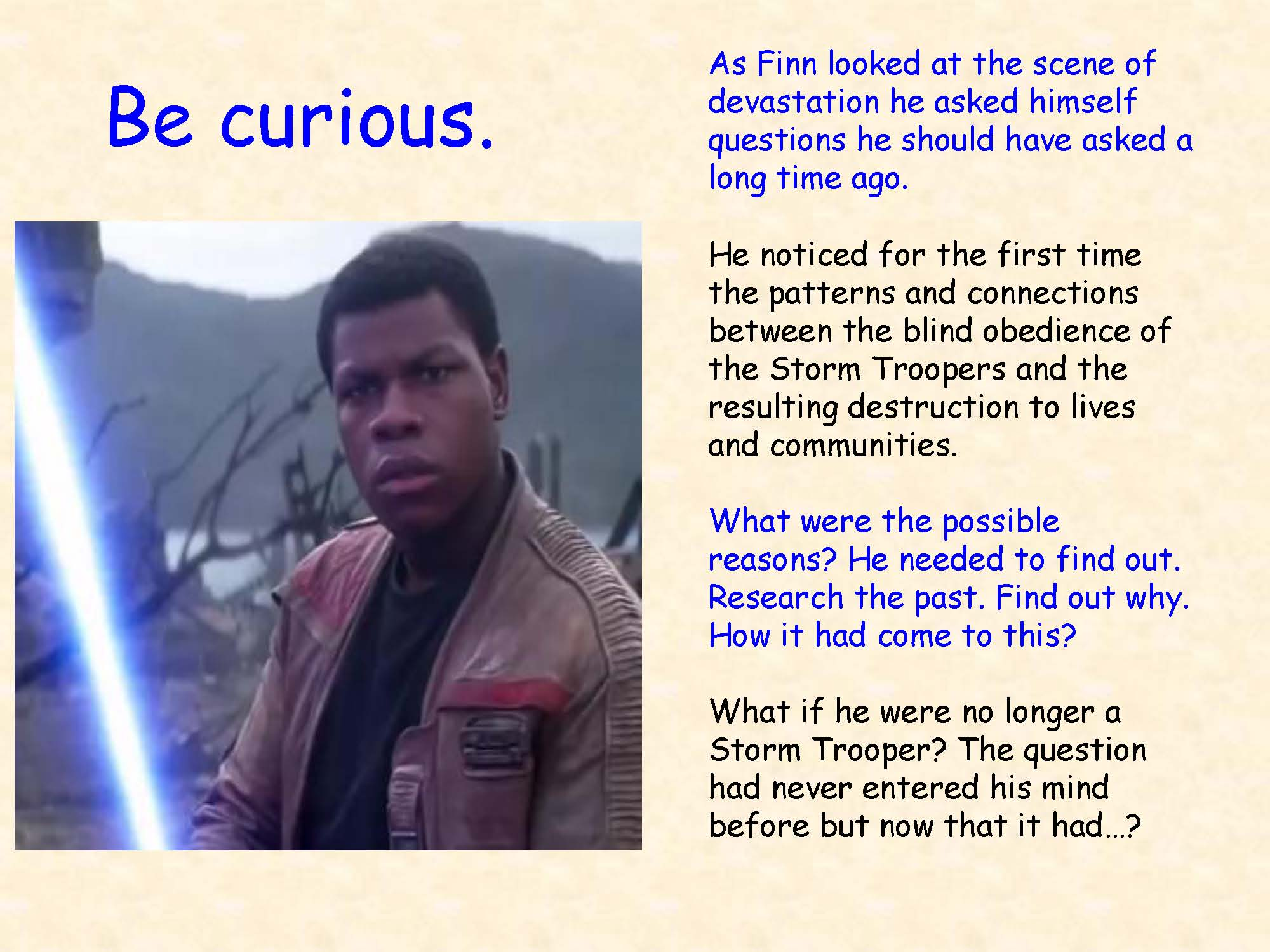 Finn for Curiosity