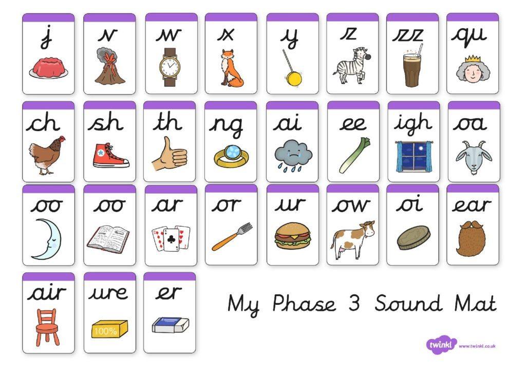 T L 016 Phase 3 Sound Mat C Page 001 Reception Aqua